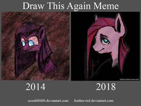 Pinkamena Draw This Again Meme