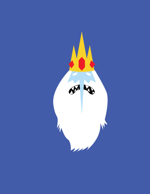 Minimalist Ice King By EnigmaRising