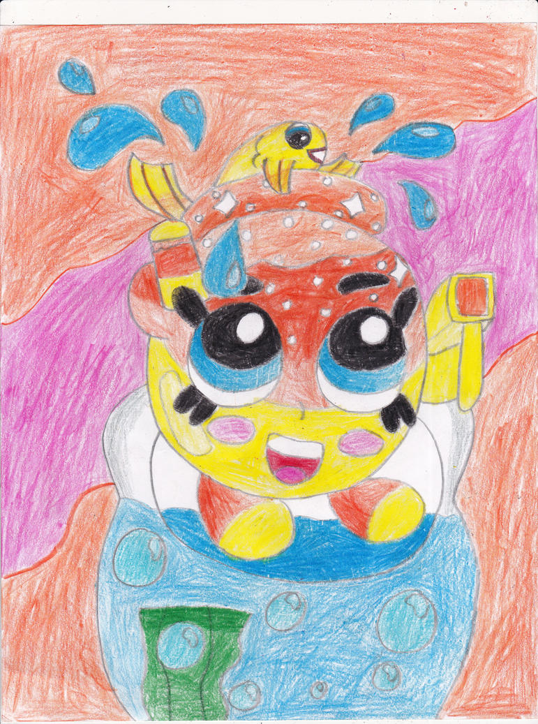 shopkins goldie fish bowl by omgpeeps on deviantart