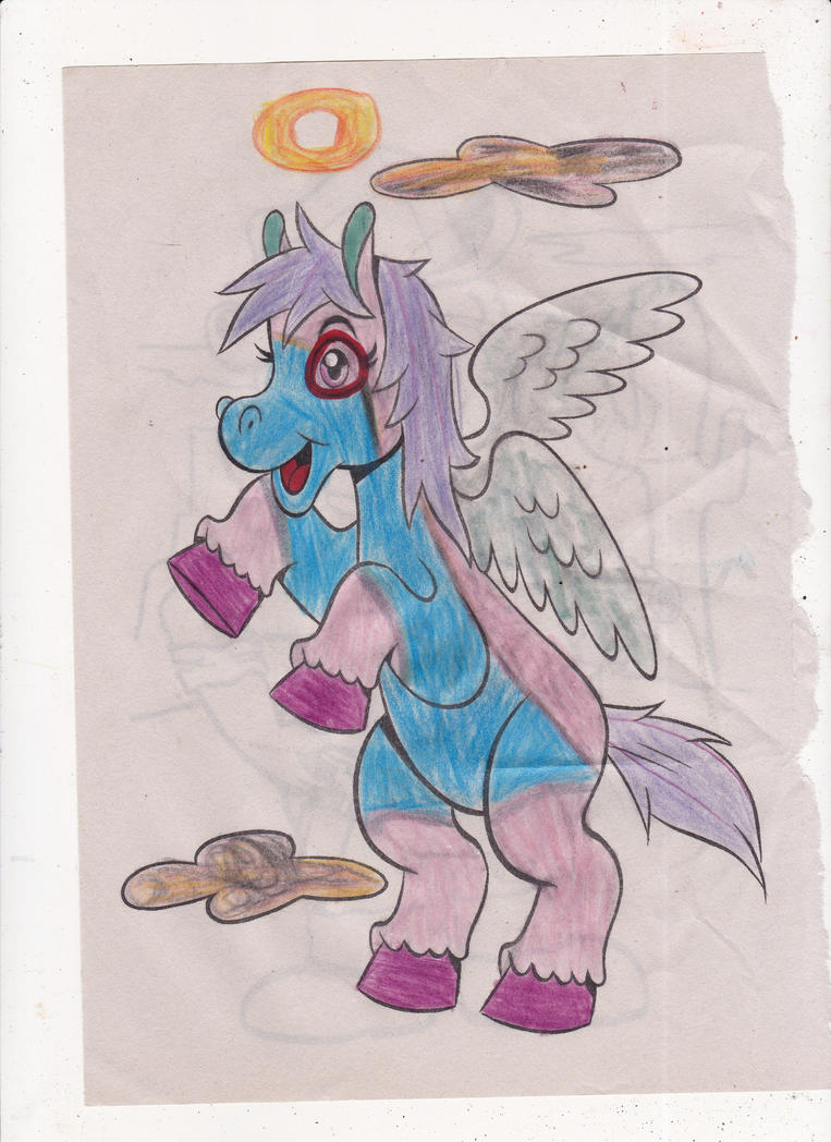 Angelic pony coloring page! by omgpeeps on DeviantArt