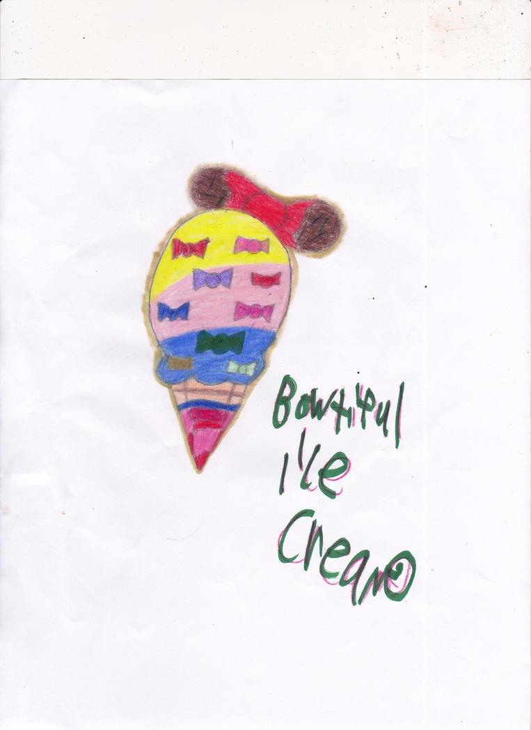 Bowtiful ice cream! by omgpeeps