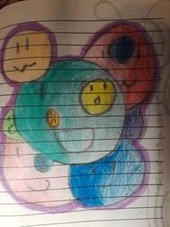 Bubble friends by omgpeeps