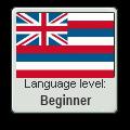 Hawaiian Language Level Stamp by xxMioKittyxx