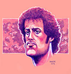 Sylvester Stallone-First blood by olivier77