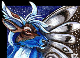 Slyph-Skydancer ACEO by Foxfeather248