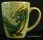 Eastern Earth Dragon Mug