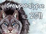 Snowpocalpyse Badge