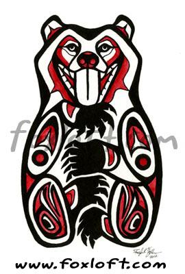 Life Bear by Foxfeathe...