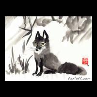 Little Vixen Sharp-Ears by Foxfeather248