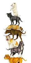 Pitbullstack by Foxfeather248