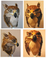 Griffin Mask: Multiple views