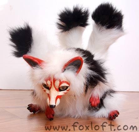 Kabuki the Kitsune by Foxfeather248