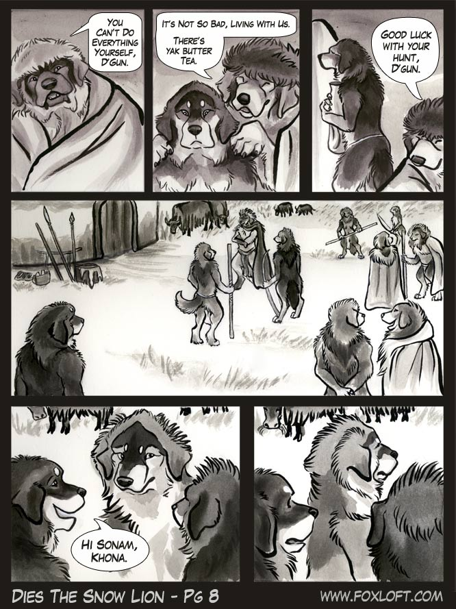 Dies The Snow Lion - Page 8 by Foxfeather248