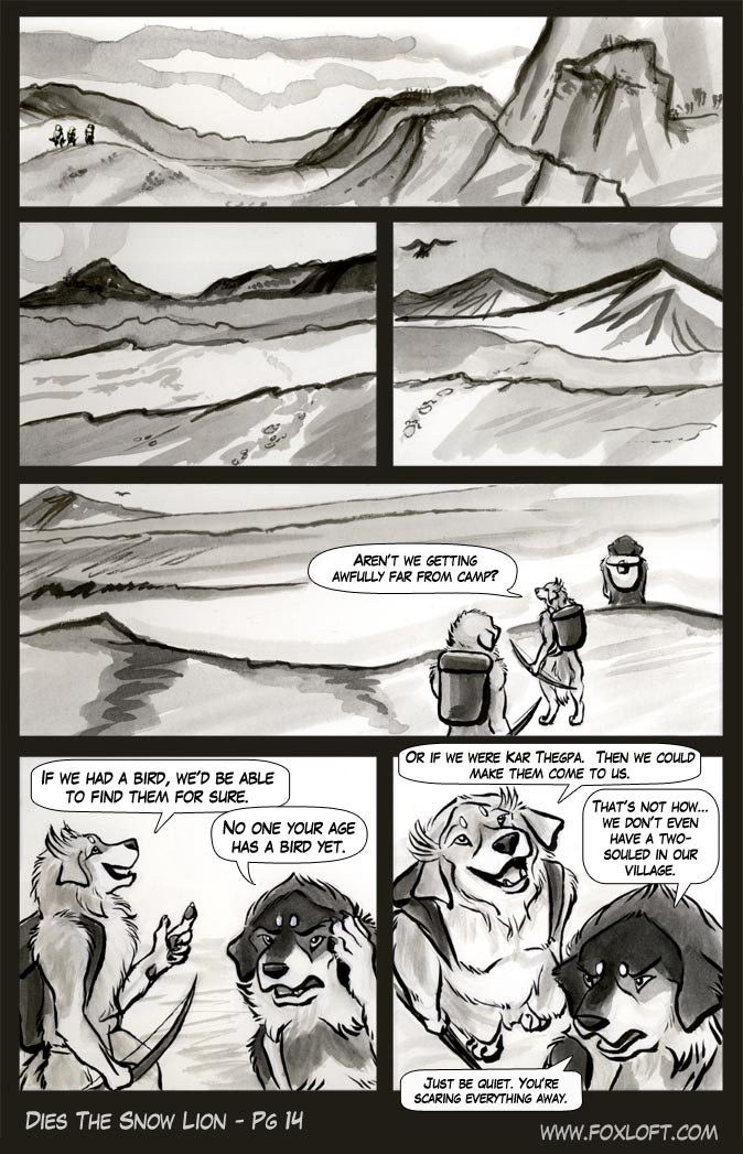 Dies The Snow Lion - Page 14 by Foxfeather248
