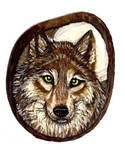 Detailed Wolf on Tagua
