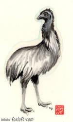 Sumi Emu