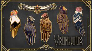Visionary Vultures live on Kickstarter!