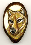 Thylacine Tagua Pendant