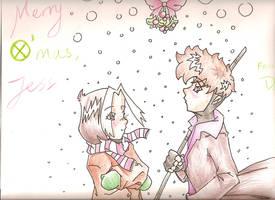 Christmas Card: Romy by Marshmallowhead