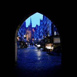 Mariacka street in Gdansk/ Poland by brzeginia