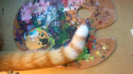 very artistic tail by brzeginia