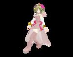 -MMD- Project DIVA White Dress GUMI DL