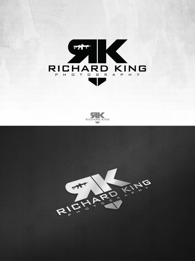 Richard King Photography Logo By 187designz