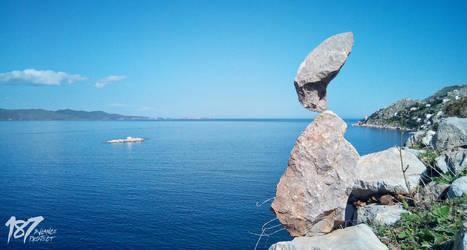 stone balance #08 by 187designz