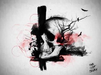 Sacred Skull... by 187designz