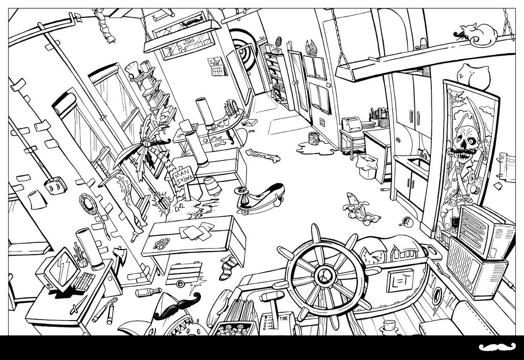the office coloring pages tirevi fontanacountryinn Cover Letter for Medical Office office coloring book page 7 8 by piratesofbrooklyn on deviantart