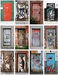 The Doors of NYC print 2
