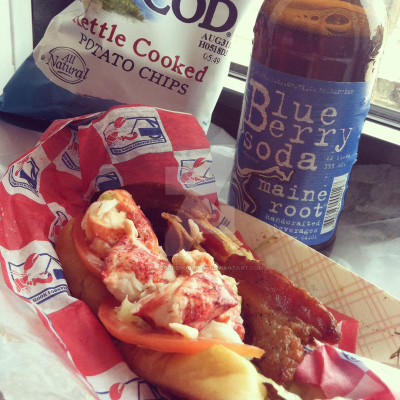 Red Hook Lobster Pound Lobster Roll by piratesofbrooklyn