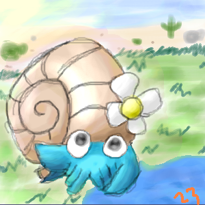 Omanyte Request by spiffychicken