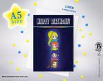 CHIBIS TOTEM Birthday Greeting Card by Stavri-Symeonidou