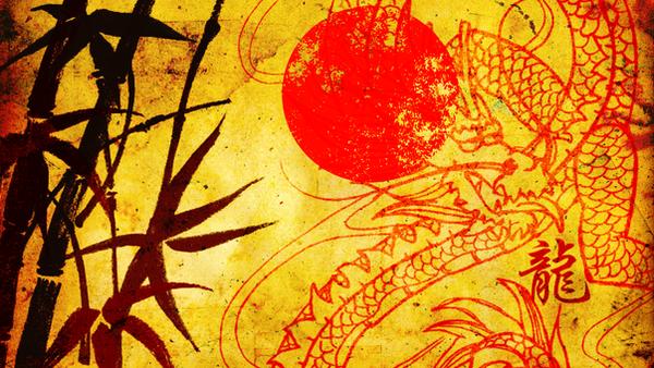 Chinese Dragon Wallpaper By DeerDandy