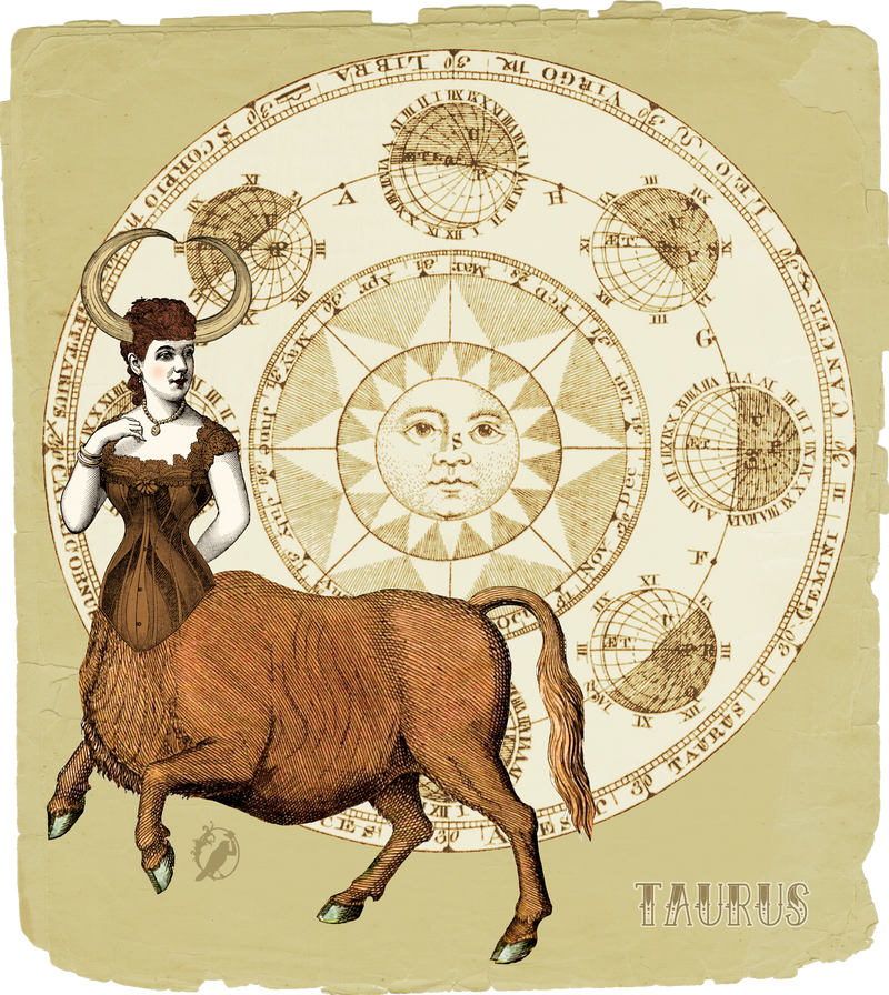 My Vintage Horoscope -Taurus- by DeerDandy