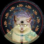 Praise Kitty by DeerDandy