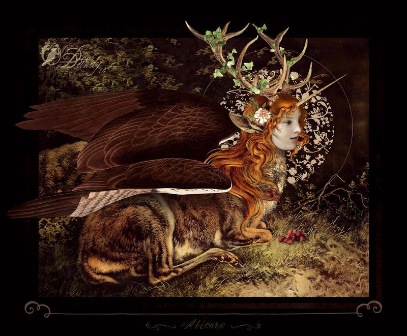 Alicorne by DeerDandy