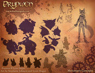 Prydwen Promo Art- Mercenary Concepts by Ifus