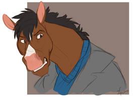 Bojack Horseman by Ifus