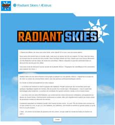 [design toyhou.se] Radiant Skies by Kazhnuz