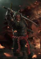 (upload) Black Samurai by microcosm11