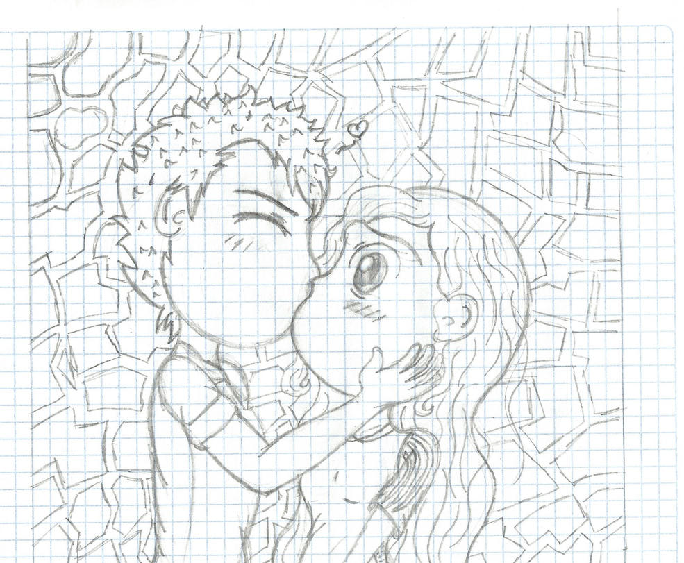 Firts Kiss by YunoRose36