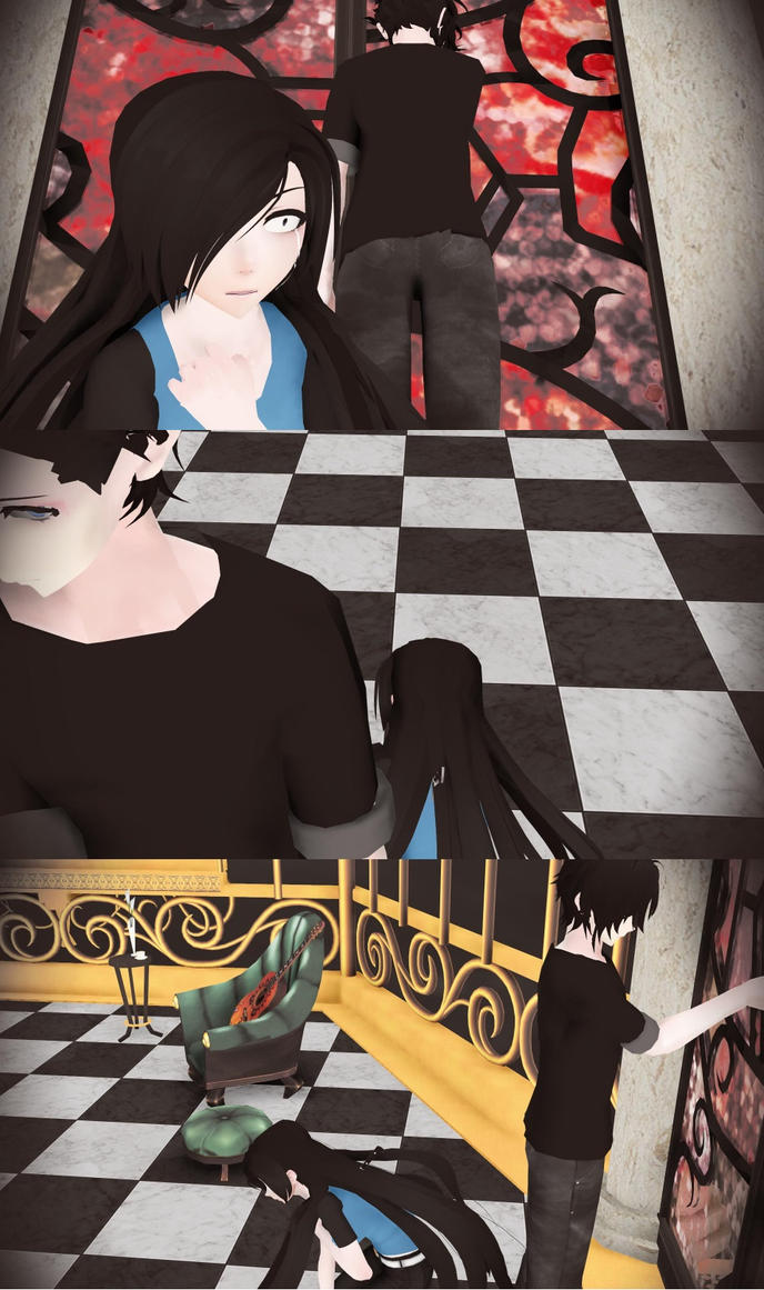 [MMD]...You Said You Loved Me.. by Harmxny