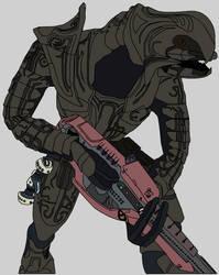 the arbiter, traced, coloured