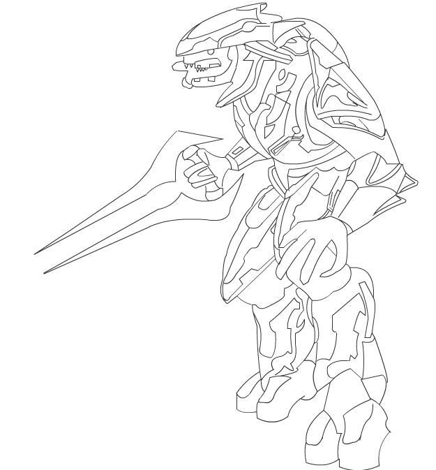 Dibujos Para Colorear E Imprimir De Halo 4 ~ Ideas Creativas Sobre ...