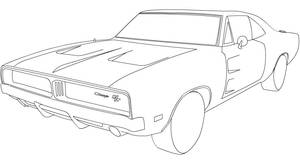 charger line-art