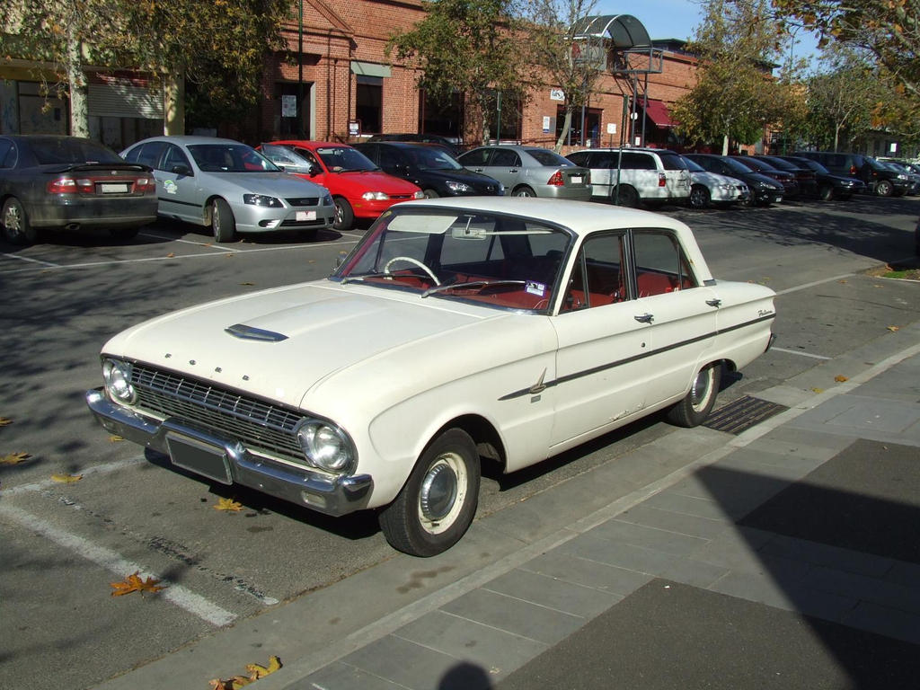 old ford falcon by