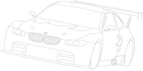 LA - BMW E92 m3 gtr