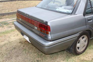my cars rear- repainted